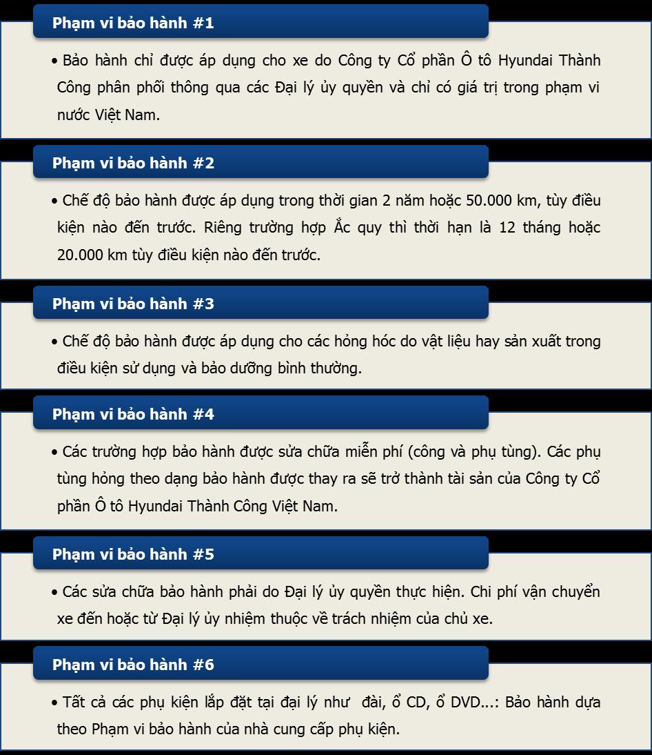 Chính sách bảo hành
