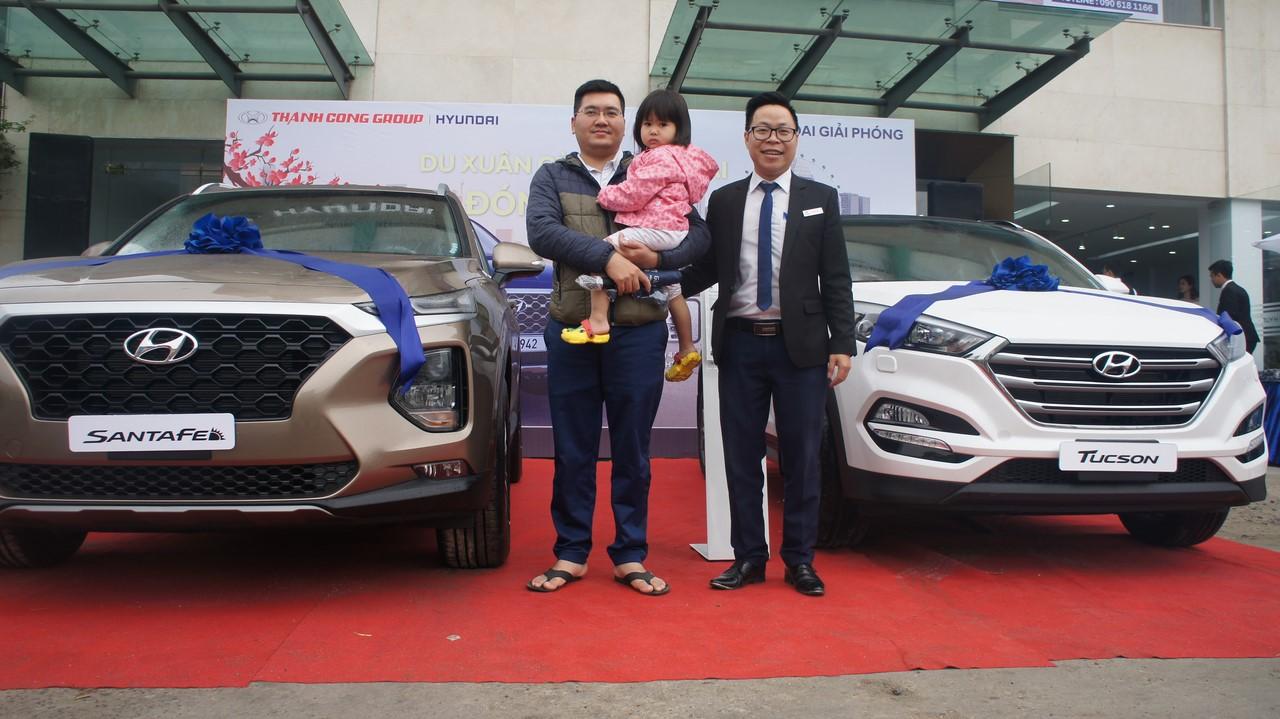 lái thử Hyundai Santafe 2019