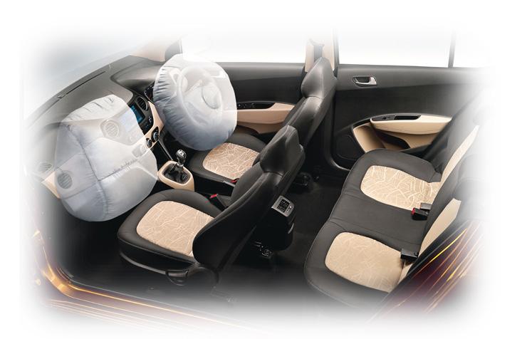 Hệ thống an toàn xe Grand i10