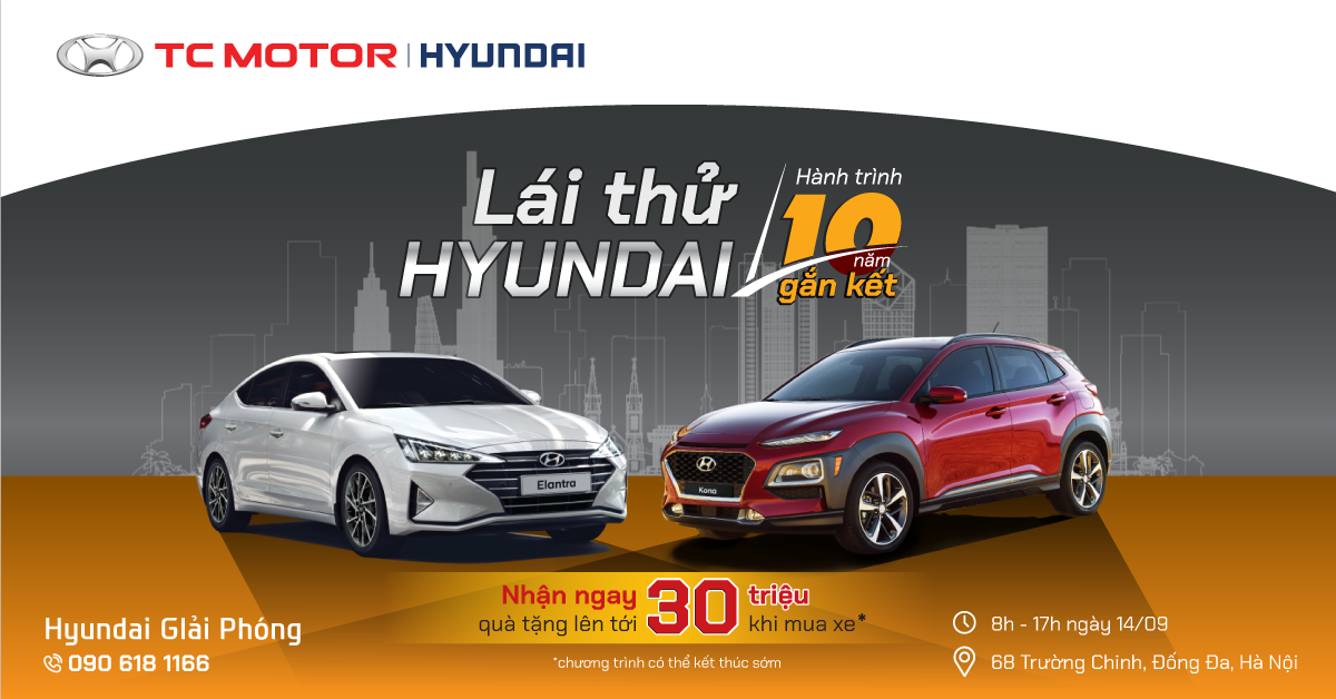 lái thử hyundai