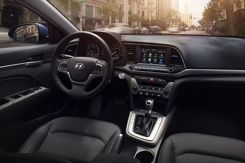 Nội thất Hyundai Elantra
