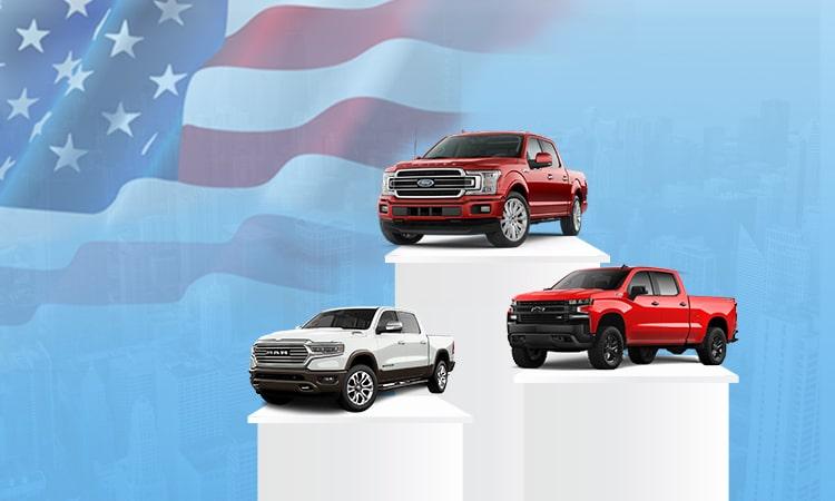 10 mẫu xe bán chạy nhất tại Mỹ