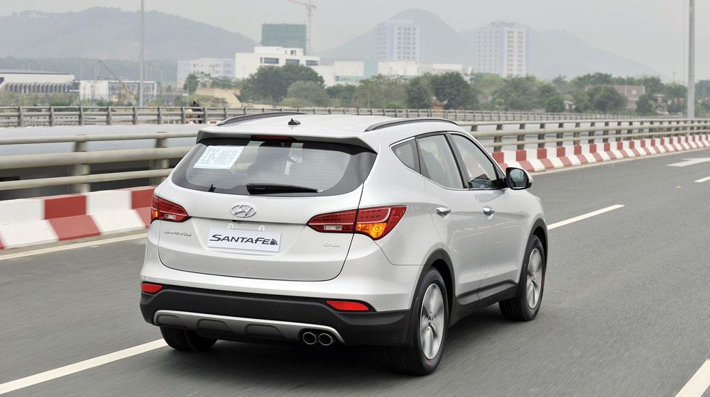 Hyundai Santafe 5 chỗ