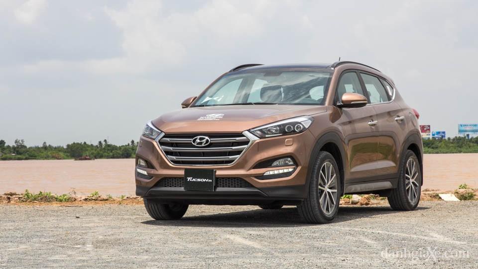 Hyundai Tucson 2016 mẫu SUV tầm giá 1 tỷ