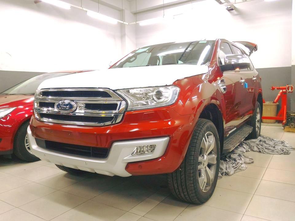 Ford Everest 2016 chờ ngày ra mắt tại Việt Nam