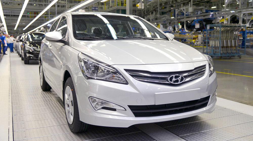 Hyundai Nga cán mốc 1 triệu chiếc xe