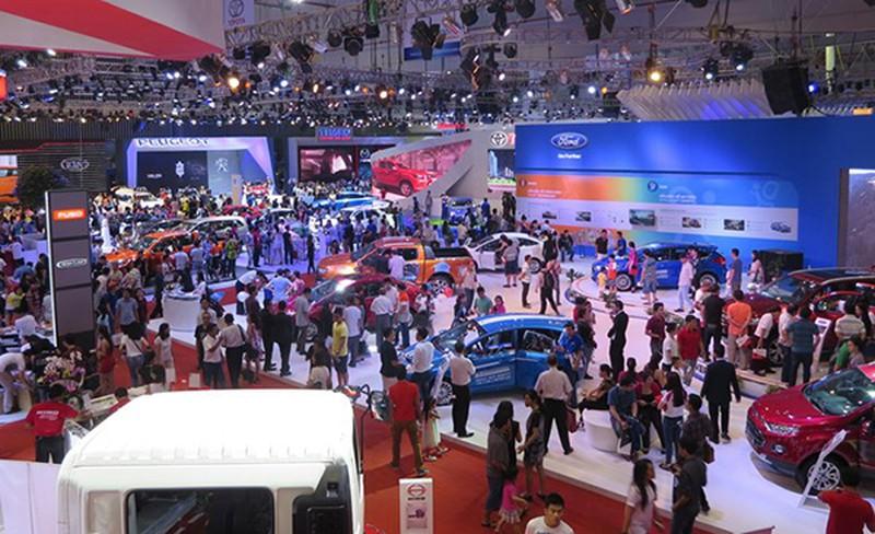 Triển lãm ô tô quốc tế tại Việt Nam