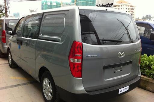xe hyundai starex 6 cho ban tai 2014 2 Xe Hyundai Starex 6 chỗ bán tải 2014