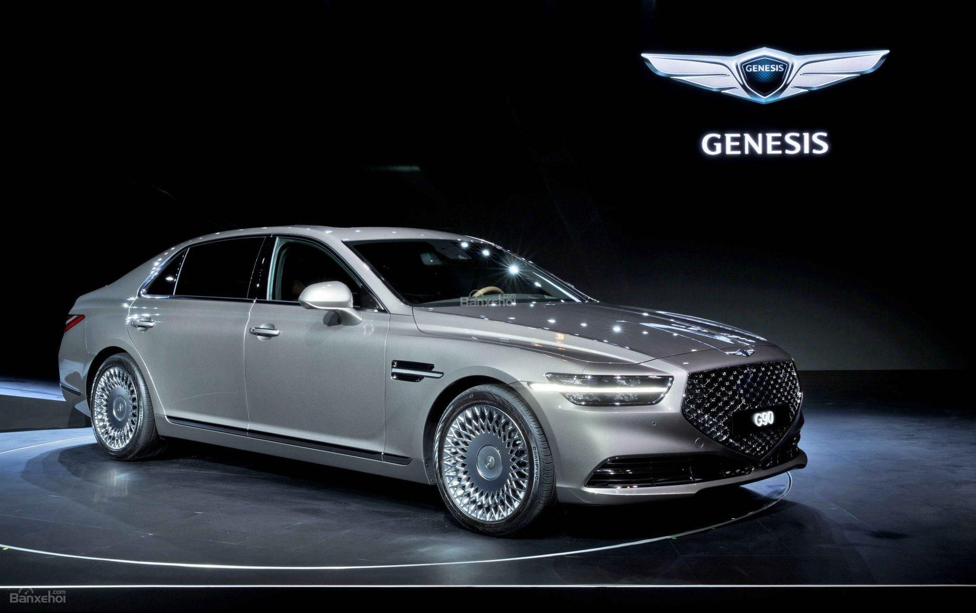 Genesis G90 mẫu xe sang của Hyundai