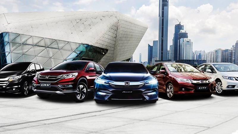 Toyota, Honda
