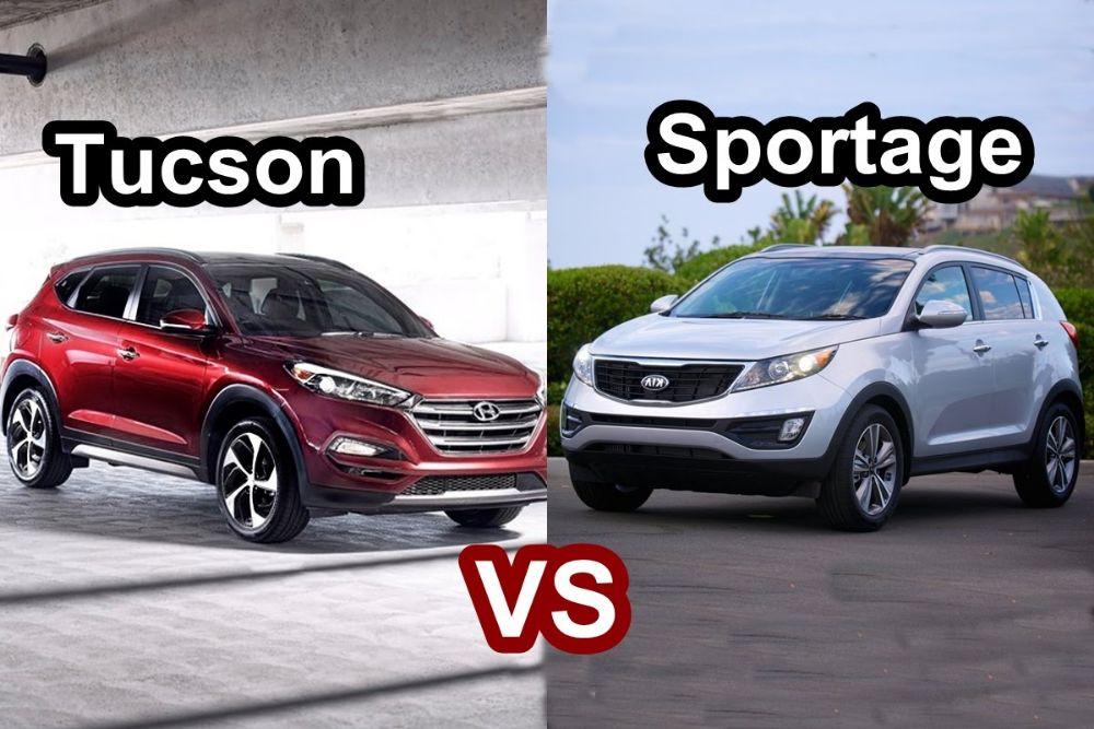 Tucson 2016 vs Sportage 2016