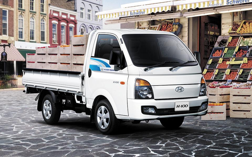 Khám phá những điểm mới về dòng xe tải nhẹ Porter H100