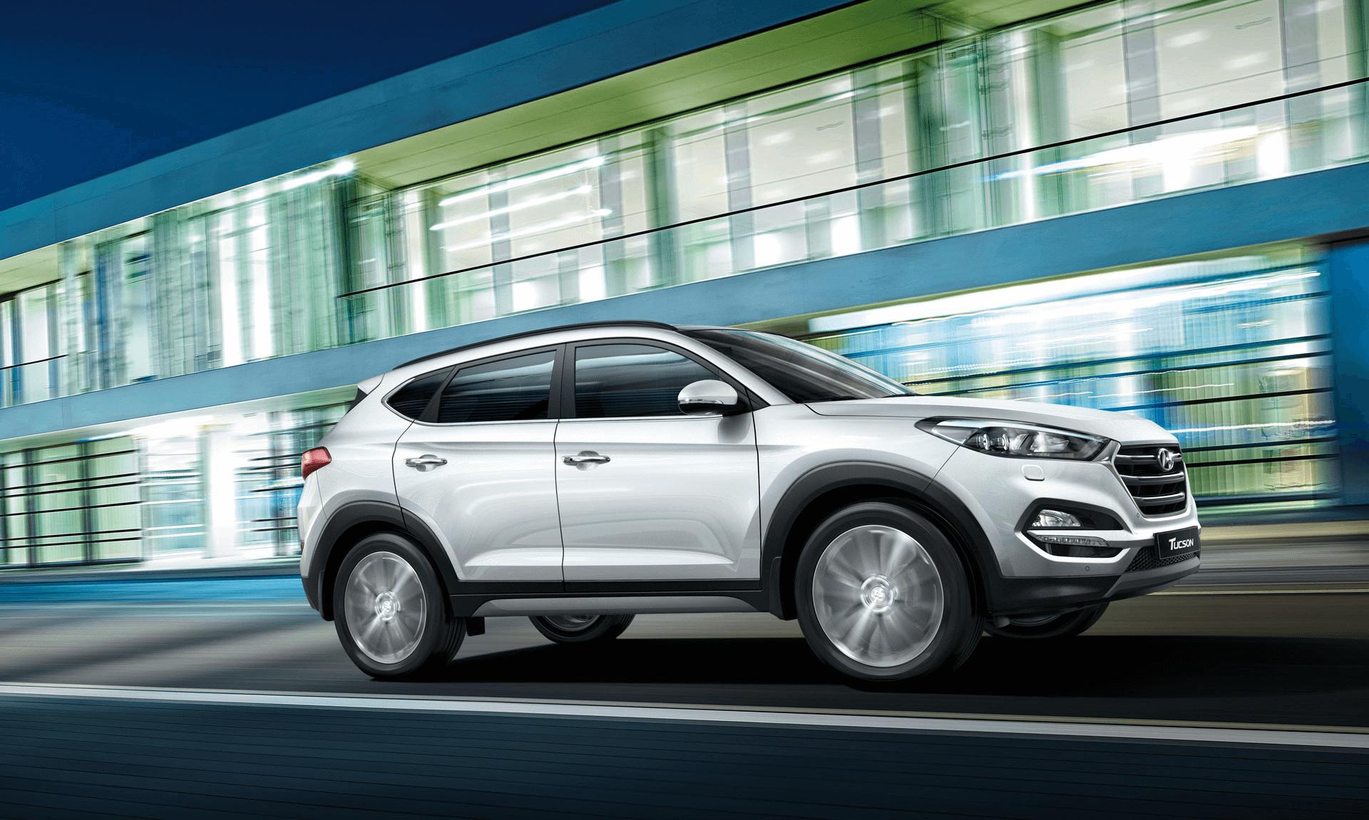 Hyundai Tucson chiếc xe có những cải tiến mới, thân thiện với môi trường