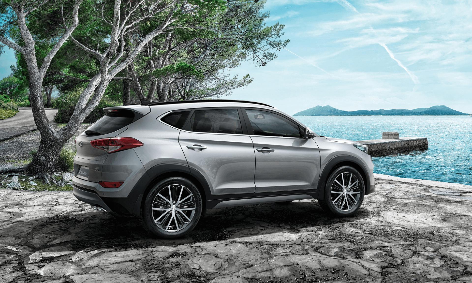 Tiện ích hàng đầu phân khúc xe Hyundai Tucson 2016