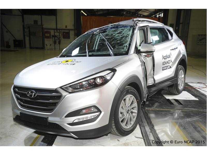 Hyundai Tucson 2016 đạt điểm số an toàn tối đa của Euro NCAP