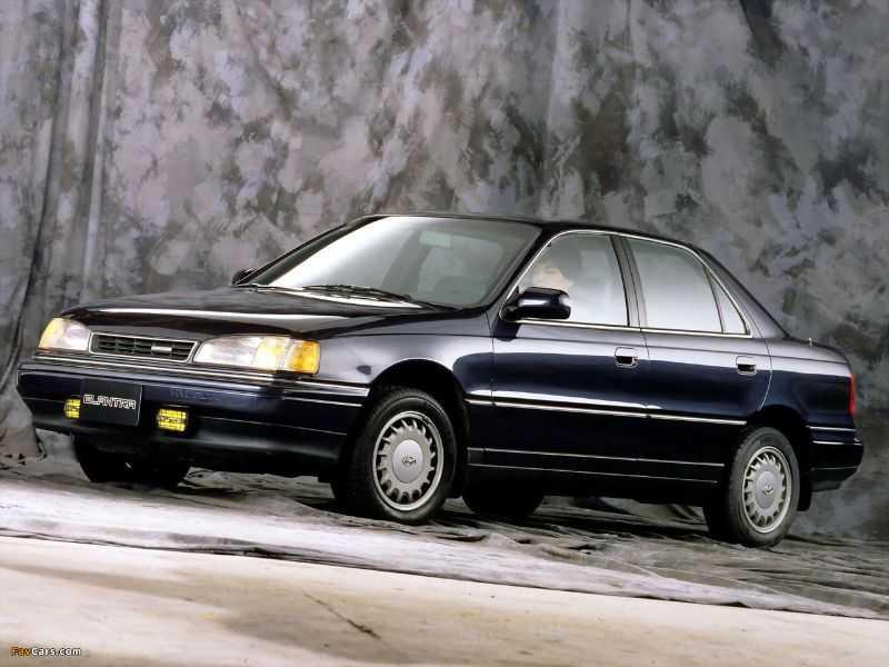 Sedan Hyundai Elantra GLS 1992
