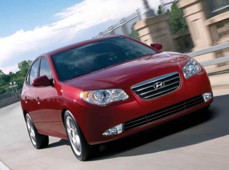 Sedan Hyundai Elantra GLS 2008