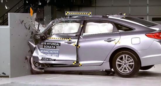 Hyundai Sonata, Tucson 2016 đạt chuẩn an toàn cao nhất của IIHS
